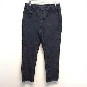 NYDJ | Alina Convertible Ankle Jeans Dark Wash